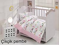 Постельное Белье Для Новорожденных В Кроватку хлопок Altinbasak Турция