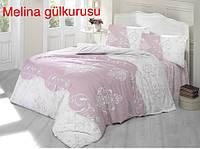 Постільна Білизна З Простирадлом на Резинці Ранфорс Євро Altinbasak Туреччина