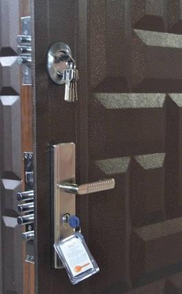 Металлические входные двери ТР-С 103 утепленные минватой наружные на улицу. Китай, фото 2