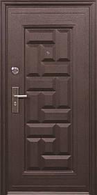 Металлические входные двери ТР-С 103 утепленные минватой наружные на улицу. Китай