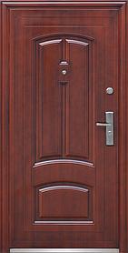 Китайские уличные  входные двери ТР-С 12 автолак медь