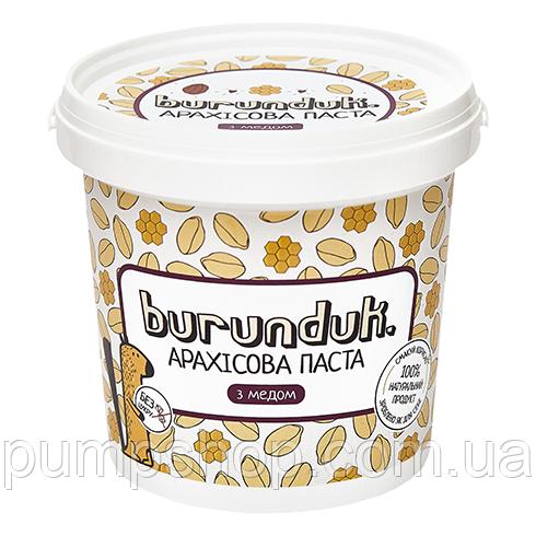 Арахісова паста Burunduk Peanut Butter 1000 м з медом