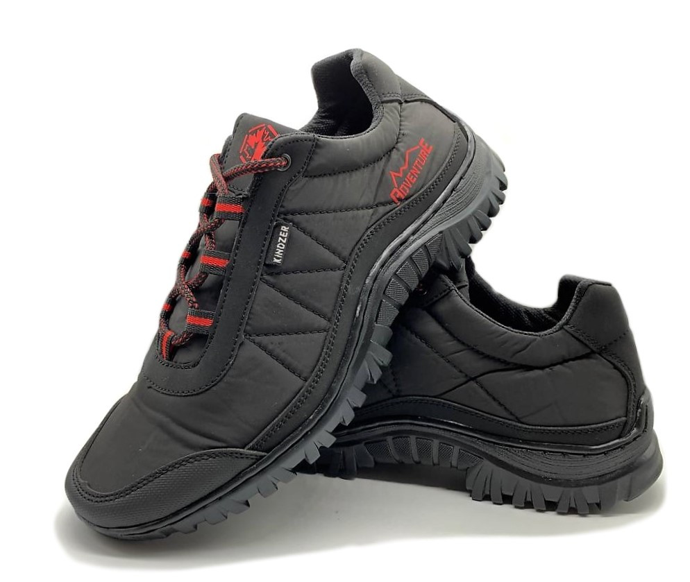 Кросівки чоловічі спортивні чорний балон