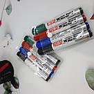 Набір кольорових маркерів для білих дошок 4 шт, фото 2