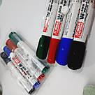 Набір кольорових маркерів для білих дошок 4 шт, фото 3