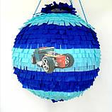 Піньята Hot Wheels хотвилс hotwheels машина машинки тачки паперова для свята, фото 4
