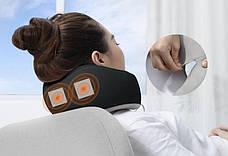 Подушка дорожная для шеи с эффектом памяти Baseus Thermal Series Memory Серый (FMTZ-0G), фото 3