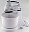 Ручний міксер з чашею 2 л Crownberg CB-7320 300 Вт, подрібнювач Віночок Чоппер Електричний Побутовий Кухонний, фото 4