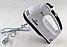 Ручний міксер з чашею 2 л Crownberg CB-7320 300 Вт, подрібнювач Віночок Чоппер Електричний Побутовий Кухонний, фото 6