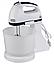 Ручний міксер з чашею 2 л Crownberg CB-7320 300 Вт, подрібнювач Віночок Чоппер Електричний Побутовий Кухонний, фото 9