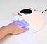 Лампа УФ для ногтей SUN X28 LED Лампа для Маникюра и Педикюра гель Лака Для Полимеризации с Таймером, фото 6