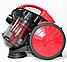 Колбовый мощный пылесос Crownberg CB-0111 2400W для Дома, Квартиры Вакуумный Контейнерный, фото 3