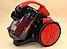 Колбовый мощный пылесос Crownberg CB-0111 2400W для Дома, Квартиры Вакуумный Контейнерный, фото 2