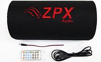 Активный сабвуфер для автомобиля Car Speaker Subwoofer ZX-6SUB 600W Сабвуферный динамик для Автозвука в машину