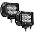 Фара LED (6 LED) 5D-18W-SPOT Світлодіодна додаткова автомобільна автофара на дах противотуманки, фото 3
