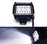 Фара LED (6 LED) 5D-18W-SPOT Світлодіодна додаткова автомобільна автофара на дах противотуманки, фото 5
