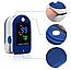 Пульсометр Оксиметр на палец LYG-88 Электронный пульсоксиметр Портативный для Измерения Кислорода в Крови ТОП, фото 6