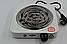 Спіральна Настільна Електроплита WimpeX WX-100B-HP Індукційна Потужність 2000W Для Будинку, Дачі, Квартири, фото 6
