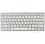 Клавіатура Російська + Мишка Бездротова W03 White Комплект з Мишкою Біла для ПК Міні мишь до Ноутбука, фото 9