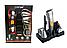 Машинка для стрижки Gemei GM 580 7 в 1 Професійна Стрижка для Волосся Тример Джемей Бороди, Носа ТОП!, фото 9