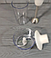 Блендер 4 в 1 Crownberg CB-6222 300Ват Міксер подрібнювач Віночок Чоппер Електричний Побутовий Кухонний ТОП!, фото 7