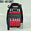 Колонка чемодан Golon RX810BT Bluetooth X-BASS со светомузыкой Блютуз с микрофоном, Акустическая колонка, фото 2