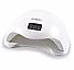 Профессиональная Светодиодная УФ Сушилка для Ногтей лампа + адаптер Sun-5 LED для маникюра 48W 100% КАЧЕСТВО, фото 4