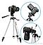 Штатив Трипод Tripod WT 330 Тринога для Екшн Камер, Смартфонів, Телефонів, Відеокамер та Фотоапаратів, Камери, фото 9