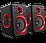 Колонки проводные FT-616 для Компьютера ноутбука планшета от USB Черные ПК Стационарные Акустика, фото 2