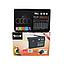 Радіоприймач колонка Golon RX-1313 MP3 USB SD Чорний Акумуляторний Радіо ФМ FM Магнітофон на Пікнік, Природу, фото 2