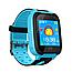 Дитячі наручні розумні годинник Smart Watch F2 з GPS, кнопкою SOS і Камерою Блакитні Смарт Телефон Ф2 для Дитини, фото 4