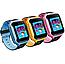 Дитячі наручні розумні годинник Smart Watch F2 з GPS, кнопкою SOS і Камерою Блакитні Смарт Телефон Ф2 для Дитини, фото 5