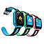 Дитячі наручні розумні годинник Smart Watch F2 з GPS, кнопкою SOS і Камерою Блакитні Смарт Телефон Ф2 для Дитини, фото 6