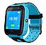 Дитячі наручні розумні годинник Smart Watch F2 з GPS, кнопкою SOS і Камерою Блакитні Смарт Телефон Ф2 для Дитини, фото 10