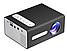 Бытовой светодиодный проектор Модель T300 Портативный Мини 20 Вт Цветов 16,7 млн AV-кабель ТОП ПРОДАЖ!, фото 3