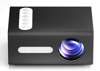 Бытовой светодиодный проектор Модель T300 Портативный Мини 20 Вт Цветов 16,7 млн AV-кабель ТОП ПРОДАЖ!