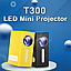 Бытовой светодиодный проектор Модель T300 Портативный Мини 20 Вт Цветов 16,7 млн AV-кабель ТОП ПРОДАЖ!, фото 8