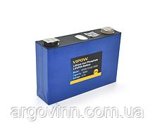 Літій-залізо-фосфатний акумулятор Vipow 3.2V 50AH LiFePO4, 2000 циклів