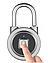 Умный замок APP LOCK открытие дверей по отпечатку Bluetooth для разблокировки блютуз Высокое качество NEW, фото 5