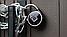 Умный замок APP LOCK открытие дверей по отпечатку Bluetooth для разблокировки блютуз Высокое качество NEW, фото 3