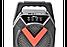 Міні колонка-валіза ESS-211 (26.5x19x11) Bluetooth, FM радіо світломузика блютуз портативна USB SD AUX від мережі, фото 7