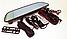 Автомобільний відеореєстратор Дзеркало DVR Full HD 1080 D35 в машину 3G/ GPS / WiFi / 8 ГБ / Сенсорним екраном, фото 4
