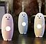 Зволожувач повітря лампа 2в1 Elite Seals-Shape Humidifier необхідна річ у кожному будинку Безшумні в роботі, фото 3