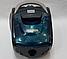 Пилосос колбовый Потужний Crownberg CB-0112 2600W 1,5 L Синій для Будинку, Квартири Вакуумний Контейнерний, фото 8