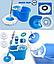 Универсальная швабра с отжимом-центрифугой и ведром Easy Mop Круглая Швабра моп для влажной и сухой уборки NEW, фото 8