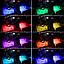 Cветодиодная RGB лента для подсветки салона автомобиля с пультом ДУ 4 шт по 18 лед ELITE LUX EL-1228, фото 9