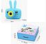 Дитячий цифровий Фотоапарат з Вушками Smart Kids Camera 3 серії Full HD 1080Р Рожевий, Синій, Жовтий ТОП!, фото 3