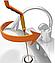 Набір для Чищення труб The Drain Weasel Plus 2 троса 60см Гнучкий Трос для Каналізації, Умивальники, туалети ТОП, фото 6