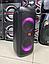 """Портативна бездротова акустична колонка з Bluetooth ZXX 5506 c мікрофоном 500Вт 6"""" USB/SD/ FM BT/MIC/ДУ, фото 7"""
