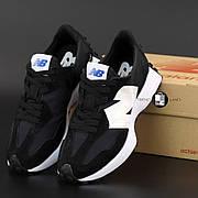 Женские кроссовки в стиле New Balance 327 | Black White